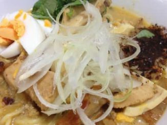 Burmese Traditional Coconut Khow Suey